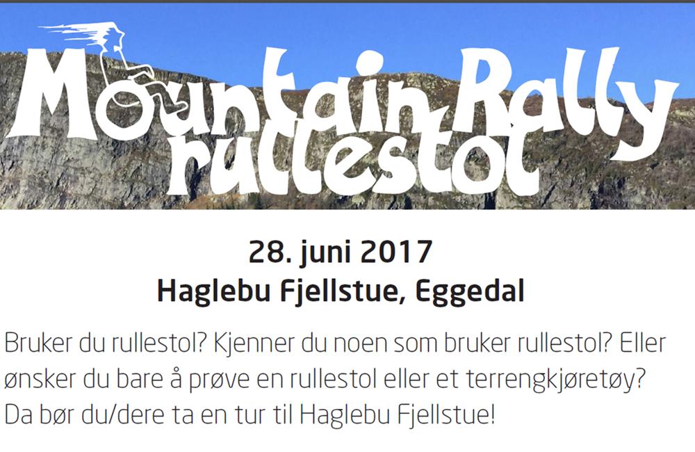 Mountain Rally rullstol