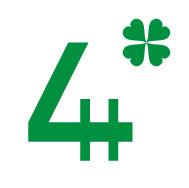 Logo. 4H.