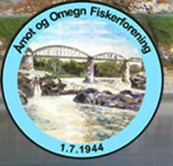 Logo. åmot og omegn fiskeforening