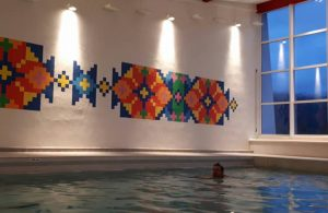 Svømmehall. Foto.