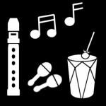 Piktogram av Instrumenter