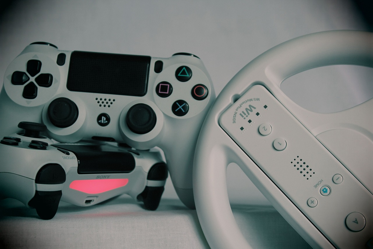 Kontroll til gaming. Foto.