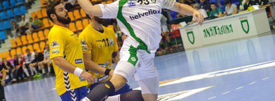 Håndballspillere. Foto.